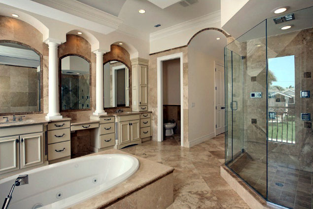 Charmant ... Bathroom Remodeling Miami Beach Master ...